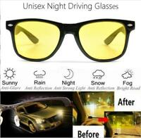 Car HD Len Sunglasses UV Protection Night Vision Sport Driving Glasses Unisex