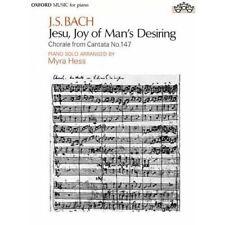 Jesu, Joy of Man's Desiring: Piano solo - Paperback NEW Hess, Myra 1935-02-14