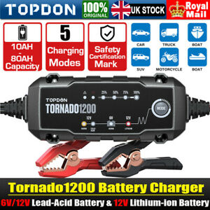 12V 6V NEW Smart Intelligent Car Battery Charger Automatic Trickle Pulse Repair