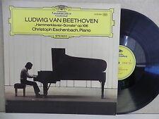 2530 080 DG Stereo- Christoph Eschenbach-Beethoven Piano Hammerklavier Sonata LP