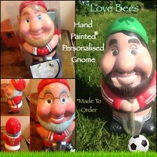 Love Bees Lookalike Football Fan Gnome Full Kit  *Made To Order  - Hand Painted