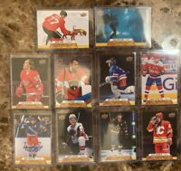 Upper Deck 2020-21 Series 1 Canvas Hockey Card Set **You Pick** C1 to C90