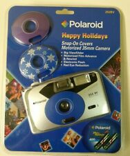 Poloroid 252BV Happy Holidays Snap On Covers Motorized 35mm Camera