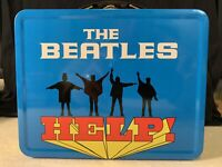 "THE BEATLES HELP! Retro Metal Lunchbox - Apple 🍏 Corps Ltd. 7.5"" x 3"" x 6""H"
