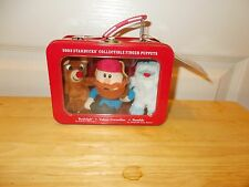 STARBUCKS/RUDOLPH......REINDEER 2003/Collectible Finger Puppets MIB