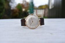 Blancpain 750 18ct 18k Ultra-slim Men's Solid Gold Watch Pie Pan Dial