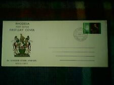 RHODESIA FIRST DAY COVER LEANDER STARR JAMESON 1967-FREE UK POST-BUY NOW £4.99