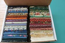 """50 """"THIMBLEBERRIES"""" QUILT FABRIC FAT QUARTERS FROM VARIOUS COLLECTIONS BY RJR"""