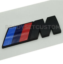 Pair of Black M Sport Side Panel Badges for BMW - M2 M3 M4 M5 M6 X5 X6 M8 DECAL