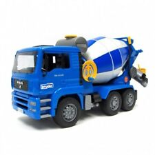 BRUDER Construction series - # 02744 ~ MAN TGA Cement mixer w/ hose & bucket