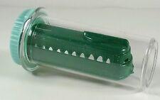 VTG Dime Store Plastic Train-Green in Vtg 8 Dram Medicine Bottle Green Cap