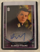 2018 Topps Doctor Who Signature Edition Autograph Russell Tovey as Alonso Frame