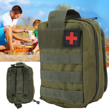 Outdoor Tactical First Aid Kit Bag Medical Molle EMT Emergency Survival Pouch