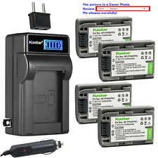 Kastar Battery LCD AC Charger for Sony NP-FP50 BC-TRP/TRH/TRV BC-VH1 AC-VQH10