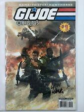 G.I. Joe Origins (2009) IDW Signed Larry Hama Dorman Retailer Variant CGC 9.8
