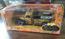 Von Dutch Garage ~ '53 Chevy Wrecker ~ NIB 1:24 Jada Toys