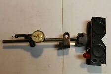 STARRETT 711 LAST WORD INDICATOR w/ GEM Magnetic Base Indicator Holder USA