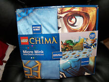 Lego Legends of Chima Twin Micro Mink Fitted Sheet Pillowcase 2 pc NEW LAST ONE
