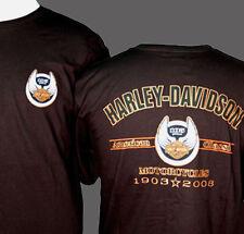 HARLEY DAVIDSON 105TH  SHORT SLEEVE MEN SHIRT (L) HARLEY SHIRT