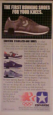 1984 Converse Tennis~Running Shoes Laser~Force 5~Phaeton Paper Trade Print AD