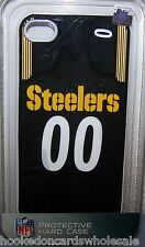 Pittsburgh Steelers iPhone4 - iPhone4S Team Case Jersey style I Holder Cover