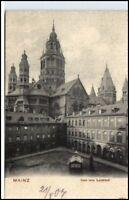 MAINZ ~1900 schöne AK Dom Leichhof Verlag Klement No.30