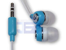 High Quality Blue & White Earbuds Earphones MP3/MP4