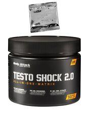 (23,43 Euro/100g) Body Attack Testo Shock 2.0 - 90 Kapseln + Produktprobe gratis