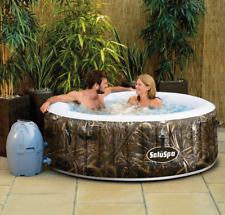 AirJet 4 people Outdoor Portable Inflatable Hot Tub Massage Spa Pool Yard NEW