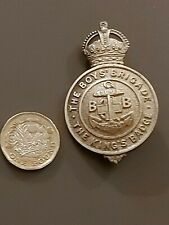 More details for the boys brigade - the kings badge - introduced in 1913, rare vgc