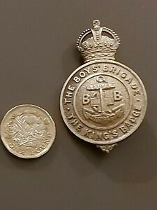 The Boys Brigade - The Kings Badge - introduced in 1913, rare vgc