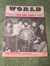THE BEE GEES World 1960's SHEET MUSIC!