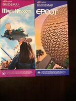 Walt Disney World Reopening Map Set Magic Kingdom Epcot July 2020 New