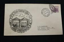 NAVAL COVER 1933 DUPLEX CANCEL LAUNCHING USS CACHALOT (SS-170) (5126)