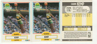 9 count lot 1990/91 Fleer Shawn Kemp Rookie Cards #178 SUPERSONICS RC LOT!