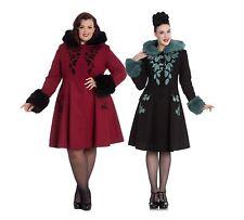 Hell Bunny Elegant Victorian Style Sherwood Coat PLUS SIZE XS - 3XL