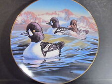 1991 Birds of the North HEADING OUT BARROW'S GOLDENEYES  Ltd Ed Plate