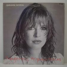 MARIANNE FAITHFULL Dangerous Acquaintances LP VINYL 33T Vinyle 6313 228 FR 1981