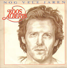 "KOOS ALBERTS – Nog Vele Jaren (1989 VINYL SINGLE 7"")"