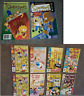 8 REN & STIMPY  & 2 The Simpsons Comics  .Very good condition Classic 90's comic