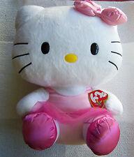"TY ""HELLO KITTY"" BEANIE ORIGINAL BUDDY IN PINK TUTU, 12"" NWT. (6258)."