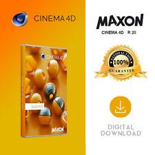 MAXON CINEMA 4D R20 Studio WINDOWS & MAC. Over 100 COPIES SOLD.