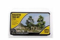 """Woodland Scenics 6 Deciduous Tree Kit Includes Sample 3 to 7"""" TR1112"""