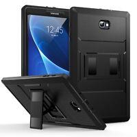 """MoKo Heavy Duty Full Body Rugged Cover Case for Samsung Galaxy Tab A 10.1"""" 2016"""