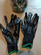 120 pairs of Black  Fixer PU coated Gloves  size 10