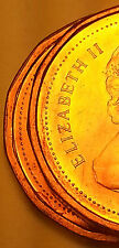 1983 Canada Small Cent Penny SET OF 2 Near Bead Far Bead  G41