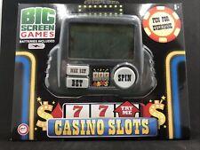 Big Screen Games Casino Slots New In Box Portable Game