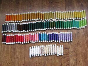 140 x reels Vintage Gutermann Silk Thread Embroidery Cross Stitch Sewing Thread