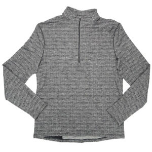 Lululemon Performance 1/4 Zip Pullover Gray Men's Size Medium