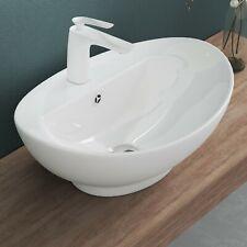 doporro Design-Waschschale aus Keramik Aufsatzwaschbecken Waschtisch inkl. NANO